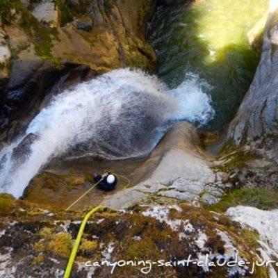 Les canyons de Saint Claude dans le Jura