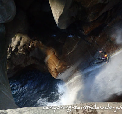 Stage Canyoning dans le Tessin en Suisse | Canyon de Cresciano Pontirone Iragna Lodrino