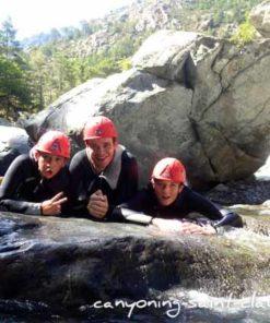 Canyoning en famille avec les enfants à Saint Claude dans le Jura
