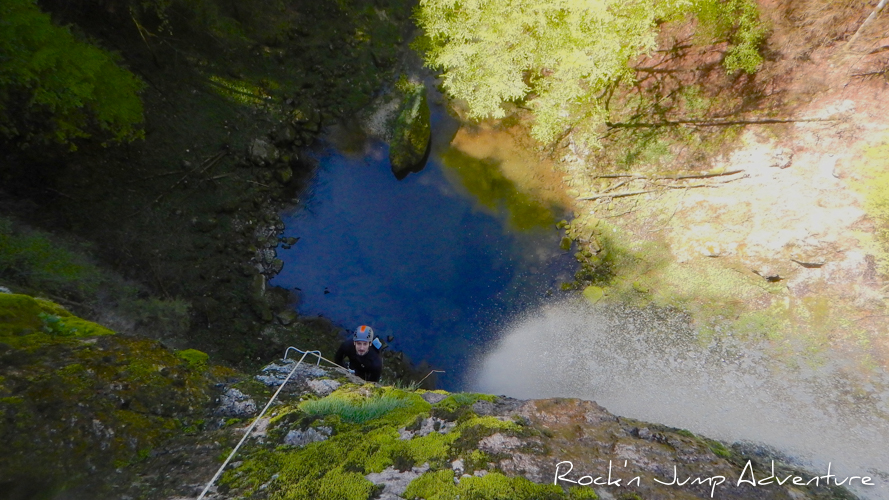 canyon de pissevieille canyoning jura saint claude bugey